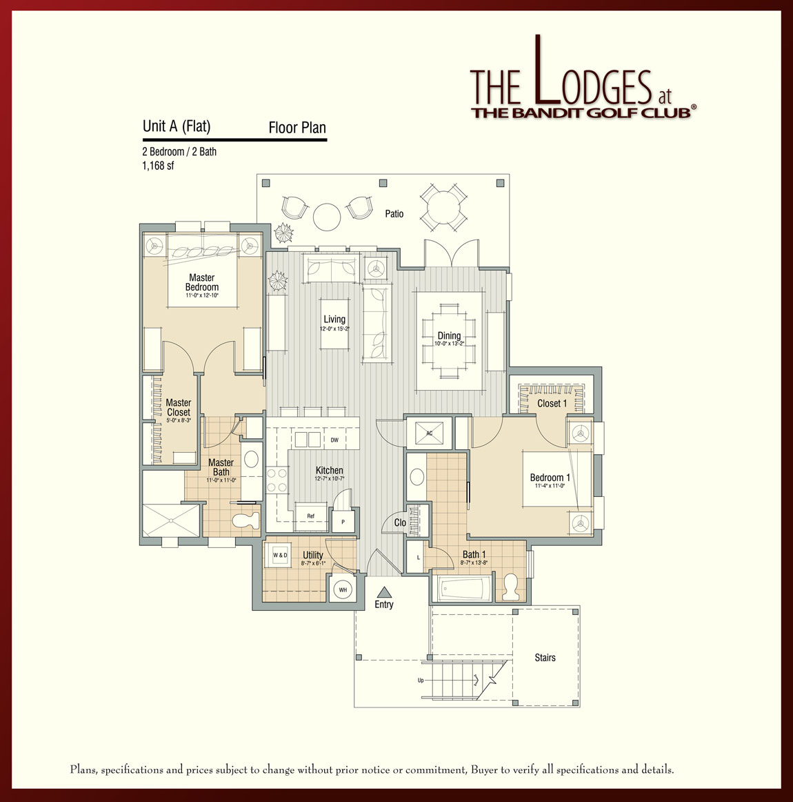 Living the bandit lake mcqueeney real estate floor plans for Real estate floor plans